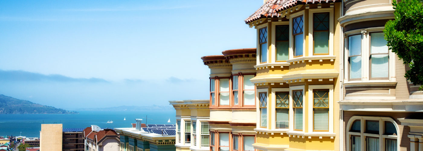 San Francisco homes near ocean